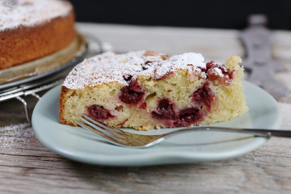 Saftiger Kirsch Schmand Kuchen Von Mrsflury Chefkoch De