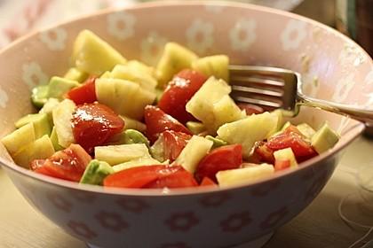 Ananas-Avocado-Fitness-Salat (Bild)