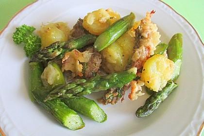 Kartoffel-Rinderhack-Spargelauflauf 2