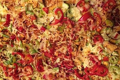 Tortilla-Chips überbacken (Bild)