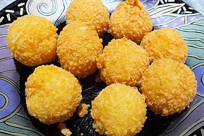 Frittierte Käsekugeln 2