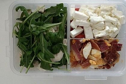 Hähnchen-Bacon-Ei-Salat 1