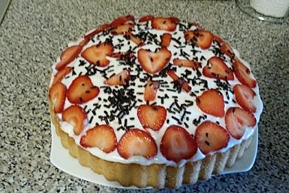 Erdbeer Schokokuss Kuchen Von Kristalla Chefkoch De
