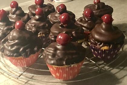Donauwellen-Cupcakes 12