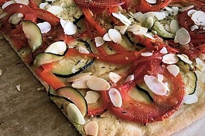 Coca Mallorquina - Spanische Pizza (Bild)