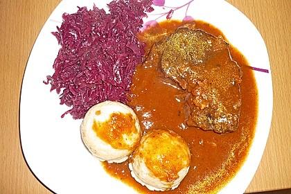 Boeuf á la mode - Rinderschmorbraten mit Gemüse 10