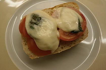 Tomaten - Mozzarella - Baguette 1