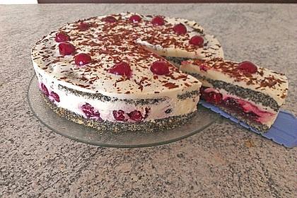 Mohn - Kirsch - Torte (Bild)