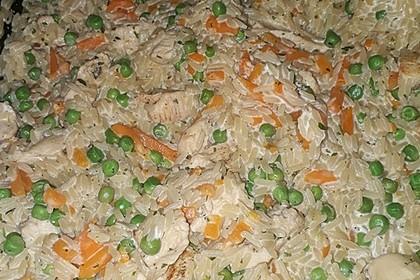 Reispfanne mit Gemüse und Hühnchen 12