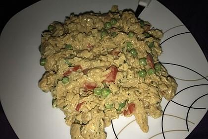 Reispfanne mit Gemüse und Hühnchen 5