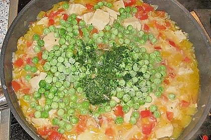 Reispfanne mit Gemüse und Hühnchen 19
