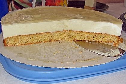 Aromatische Pina - Colada Torte (Bild)