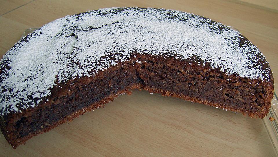 Flaumiger Schoko Nuss Kuchen Mit Joghurt Von Sussli Regi