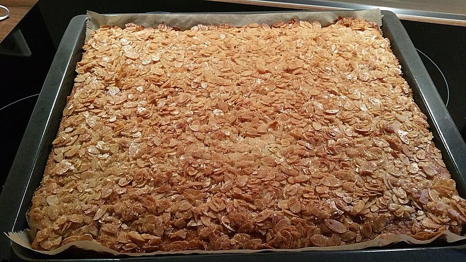 Mandelkuchen Vom Blech Von Julija Chefkoch De