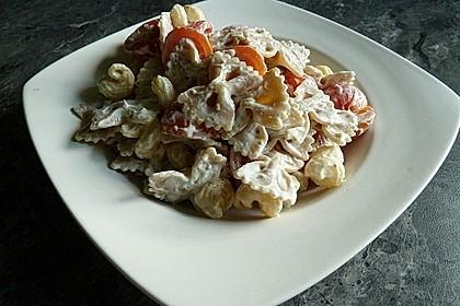 Frischkäsenudeln mit Tomaten 2