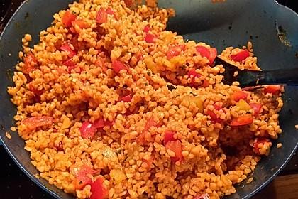 Roter Couscous - Salat 12