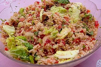 Roter Couscous - Salat 5