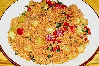 Roter Couscous - Salat 3
