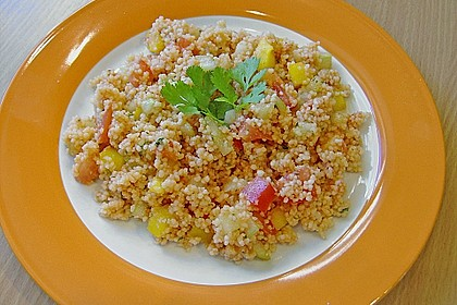 Roter Couscous - Salat 8
