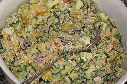 Roter Couscous - Salat 16