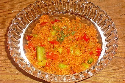 Roter Couscous - Salat 15