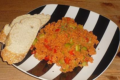 Roter Couscous - Salat 7