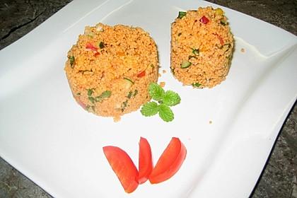 Roter Couscous - Salat 14