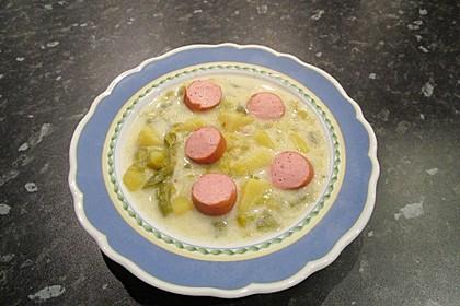 Schnippelbohnen - Suppe 3