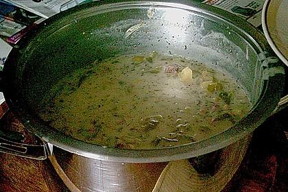Schnippelbohnen - Suppe 5