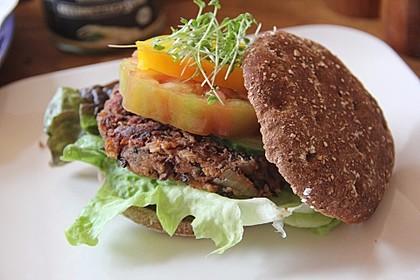 Azukibohnen Burger 2
