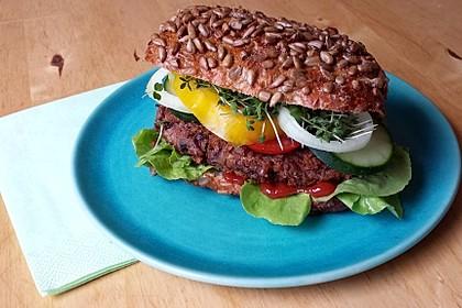 Azukibohnen Burger 1