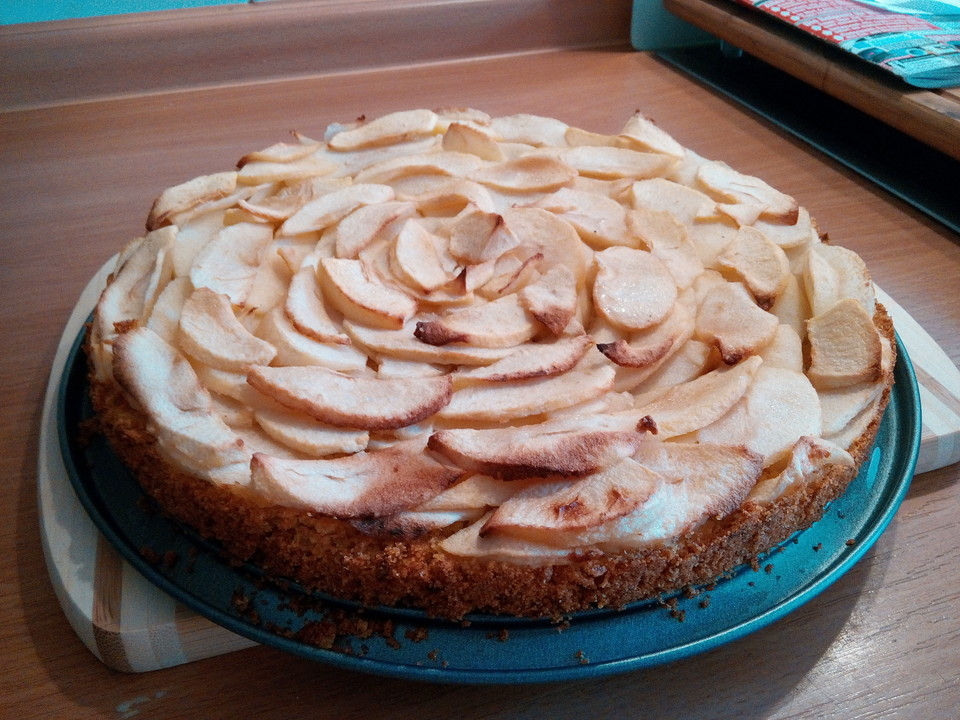 Apfel Griess Kuchen Von Cassiex Chefkoch De
