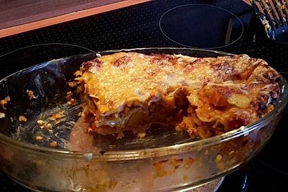 Kürbis-Linsen-Lasagne (Bild)