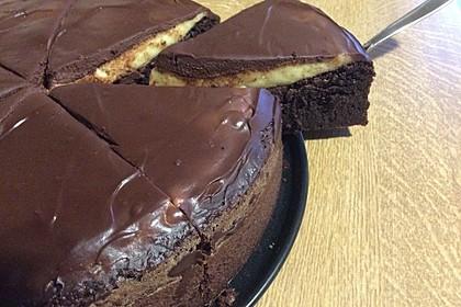 Schokoladige Schokobombe - Schokoladenkuchen 1