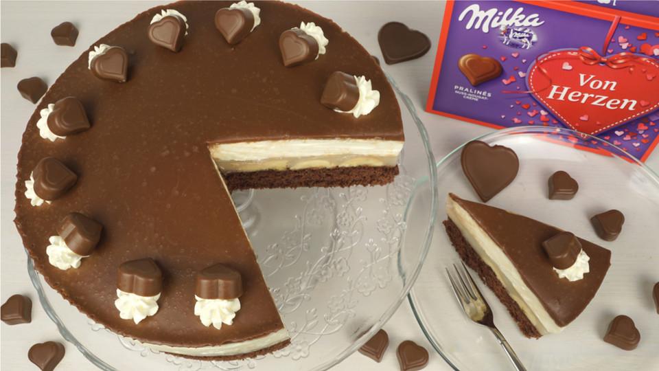 Milka Herz Torte Von Evas Backparty Chefkoch De