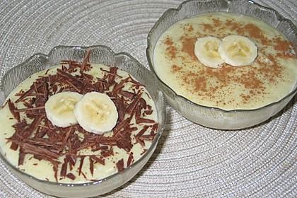 Bananen-Vanille-Pudding 1