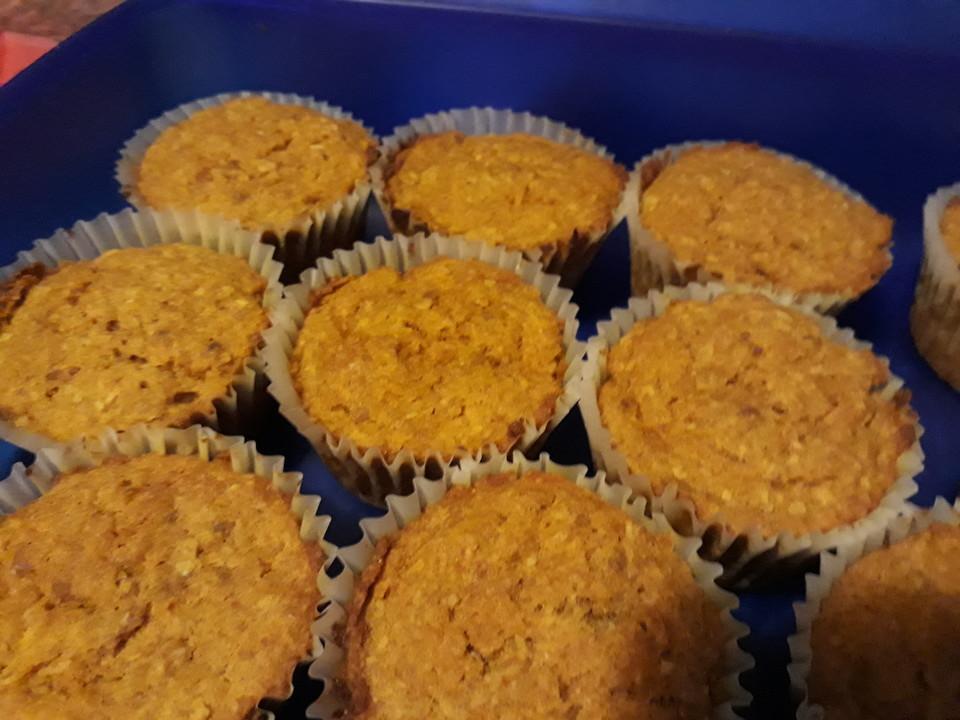Vegane Karotten Apfel Muffins Ohne Zucker Von Latens Chefkoch De