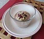 Porridge Schoko-Mandel-Rhabarber (Bild)