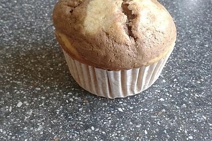 Marmormuffins mit Erdnussbutter (Bild)