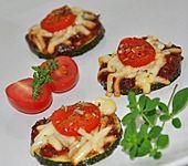 Zucchini-Pizza-Happen (Bild)