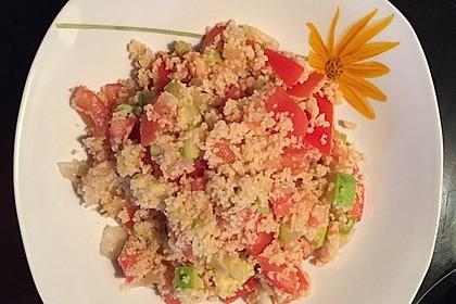 Couscous mit Zucchini und Tomaten 1