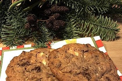 Double-Chocolate-Cookies (Bild)