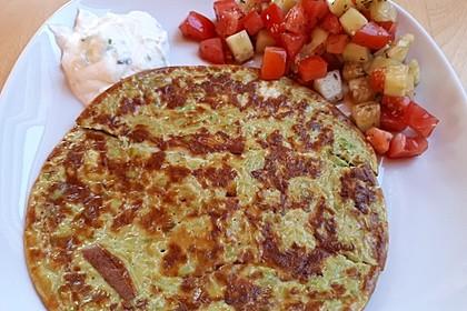 Avocado-Omelette (Bild)