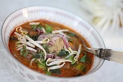 Vegane Thai-Curry Glasnudelsuppe 2