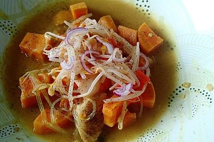 Vegane Thai-Curry Glasnudelsuppe 4