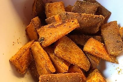 Süßkartoffel-Wedges 4