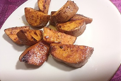 Süßkartoffel-Wedges 3
