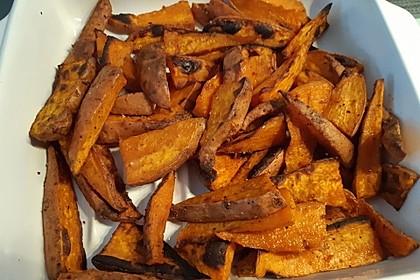 Süßkartoffel-Wedges (Bild)