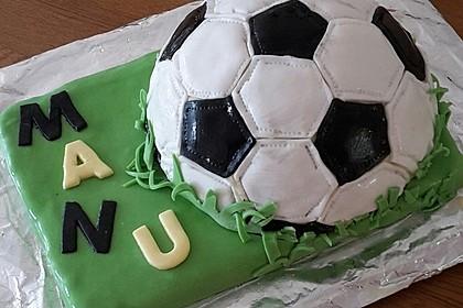 Fußball-Kuchen 2