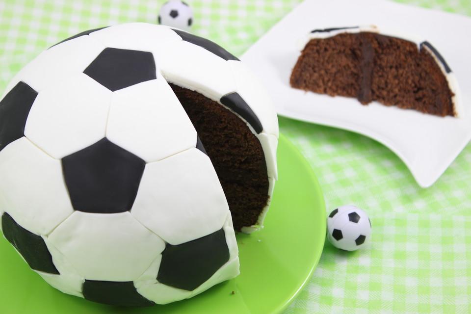Fussball Kuchen Von Amerikanisch Kochende Chefkoch De